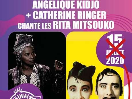 FESTIVAL DE CARCASSONNE - ANGELIQUE KIDJO ET CATHERINE RINGER