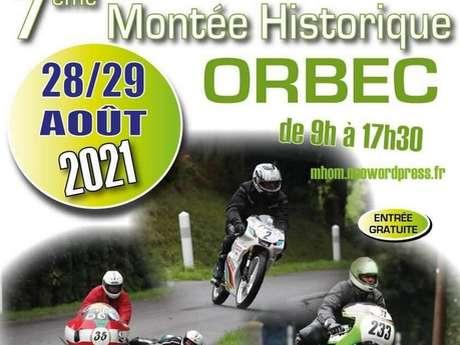 Montée Historique moto d'Orbec
