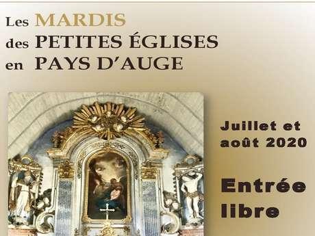 Les mardis et samedis des petites églises en Pays d'Auge - Visite de l'église d'Ecots