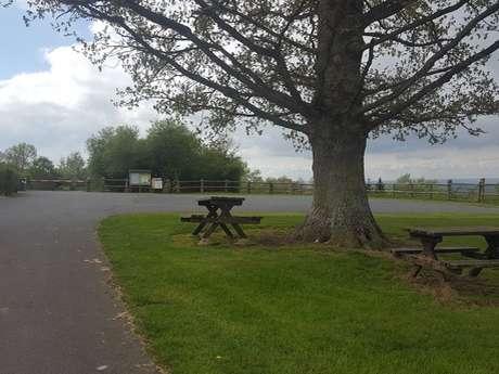 Camper van service area - L'Oudon