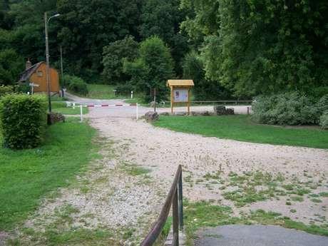 Camper van service area - Orbec