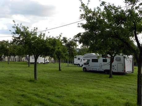 Lieu Chéri camper van service area - Ouilly-le-Vicomte