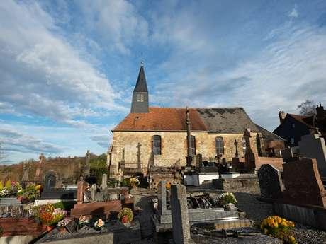 Église Sainte Croix -  L'Oudon (Montpinçon)