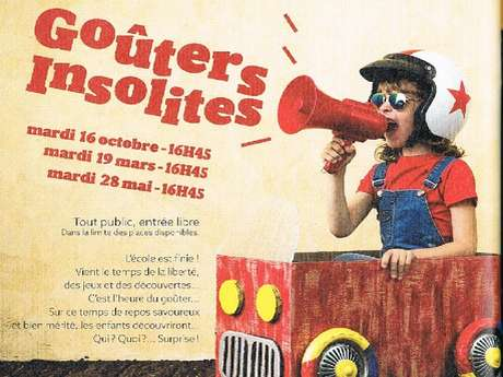 Goûters insolites à la Loco à Mézidon Vallée d'Auge
