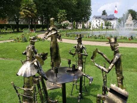 """Exposition """"L'âme des métaux"""" de Jean-Alexandre Delattre au Jardin de l'Evêché"""