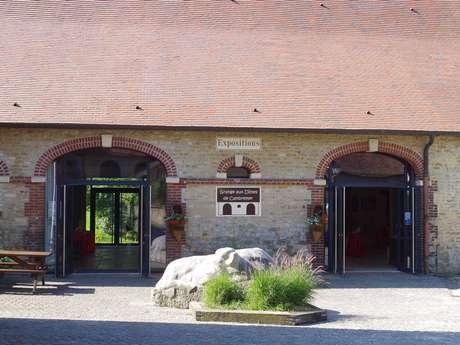 """Programme des expositions 2021 """"La Grange Aux Dîmes""""  Cambremer"""