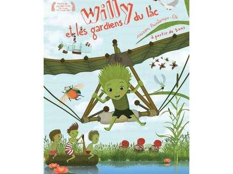 """Projection du film """" WILLY et les gardiens du lac """" dans le cadre du festival """"Génération Durable""""."""