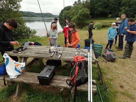 stage d'initiation de pêche aux leurres