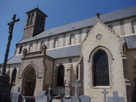 Visite de l'église de Servel et du chemin de prières