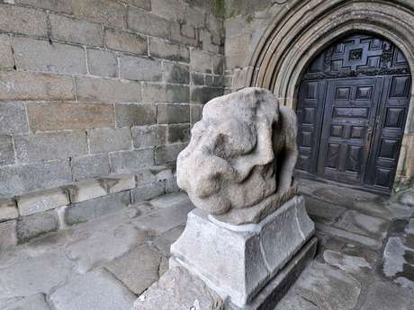 Cavalier à l'anguipède (Statuaire)