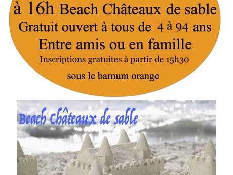 Beach château de sable