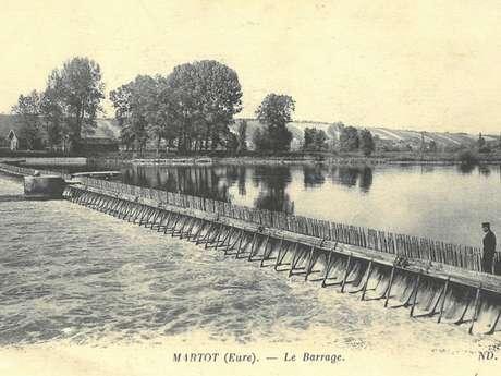 Conférence sur Le barrage de Martot : vie et mort d'un ouvrage d'art - Louviers