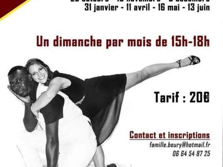 Ateliers de danse salsa et bachata