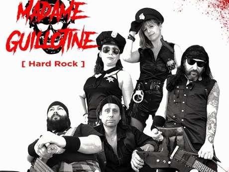 Concert hard rock Madame Guillotine