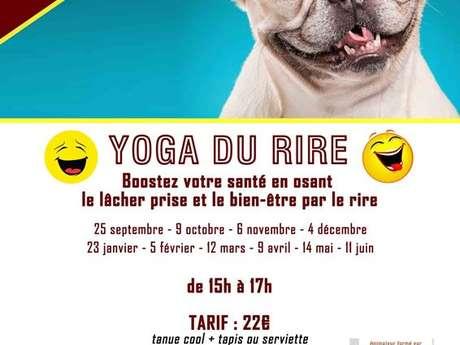 Stage de yoga du rire