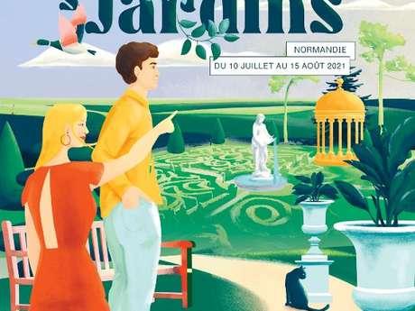 Découverte du parc romantique et de l'architecture extérieure du château - Estival des jardins