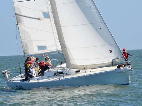 Entrainements voiles aviron- Poses