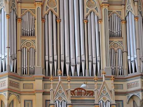Leçons et travail libre de l'Académie itinérante d'orgue en vallée de Seine normande
