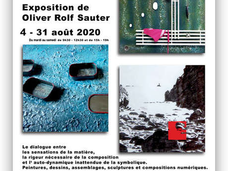 Exposition du mois d'août - Oliver Rolf Sauter