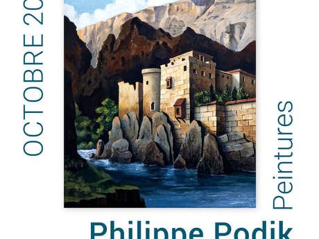 Exposition du mois d'octobre - Philippe Podik