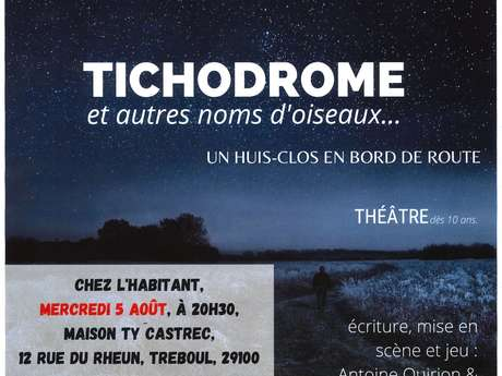 """Théâtre """"Tichodrome et autres noms d'oiseaux..."""""""