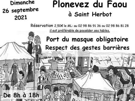Brocante vide-greniers à Saint-Herbot