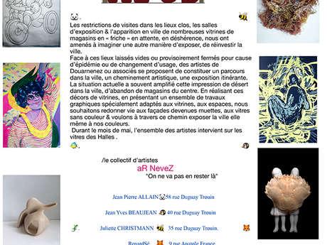 Exposition Vitrines D'Zarts