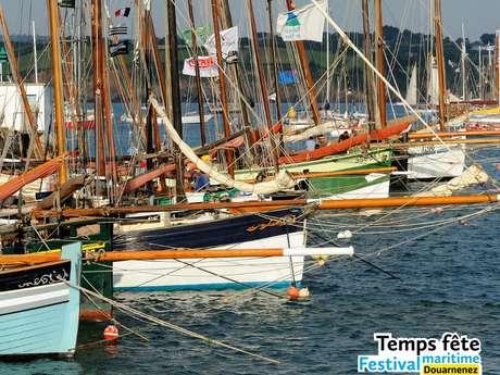 Festival Temps Fête 2021, rassemblement de bateaux