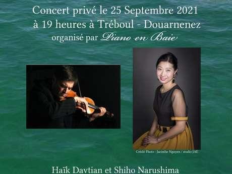 Concert privé - Violon chez Tchaïkovski et ses contemporains en Europe