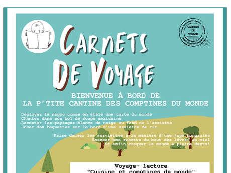 Voyage-lecture - Cuisine et comptines du monde