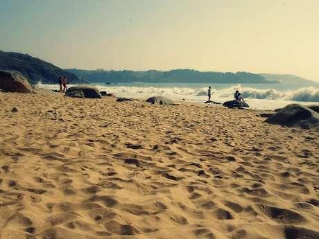 Plage de Goas Lagorn