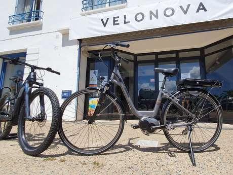 VELONOVA - Location de VTC et VTT électriques