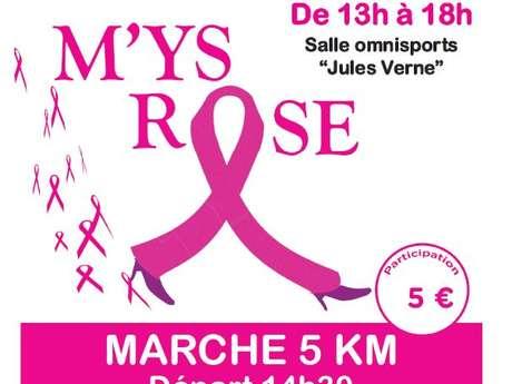 """Marche """"M'ys Rose"""" contre le cancer du sein"""