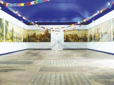 Les peintures de la salle des fêtes