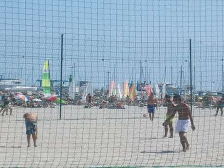 BEACH SOCCER ET BEACH VOLLEY STADES