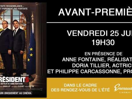 """Avant-Première - """"Présidents"""" - En présence de l'équipe du film"""