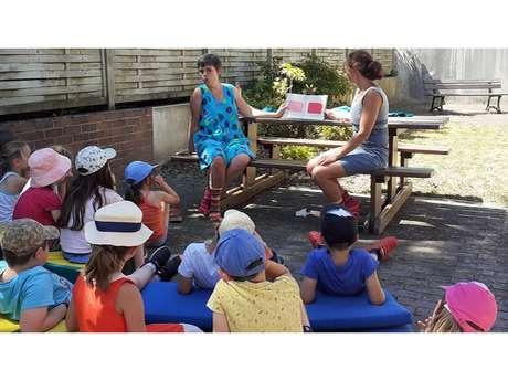 Lectures au jardin et sports