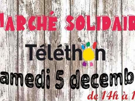 Téléthon - marché solidaire