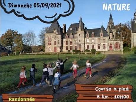 Val-d'Izé : une course nature dans les allées du château du Bois Cornillé