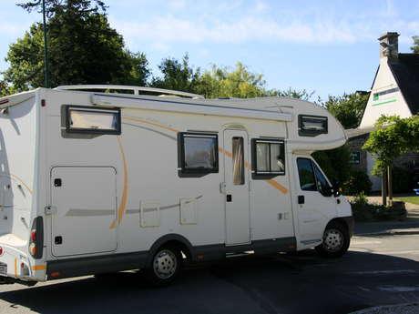 Aire de services camping du Logis