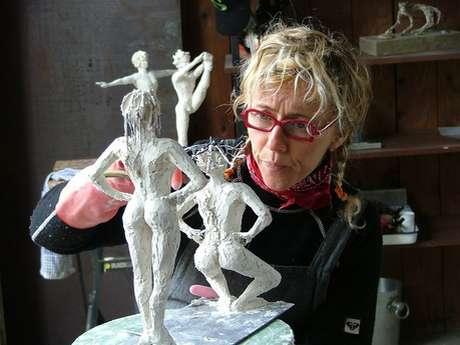 Sculpteuse - Atelier Galerie Catherine Bourdier