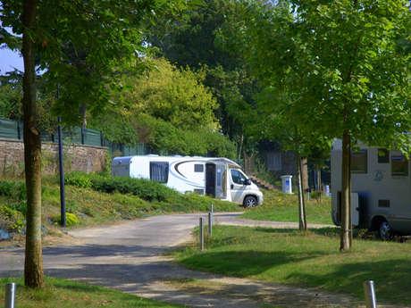 Aire de camping-cars de Bazouges-la-Pérouse