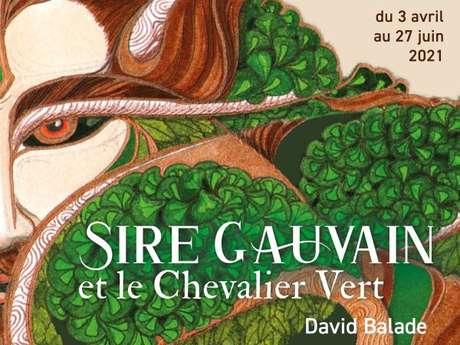 Sire Gauvain et le Chevalier Vert : Découverte de l'exposition avec David Balade
