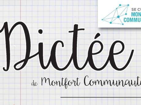 Dictée de Montfort Communauté