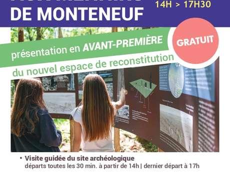 Journées européennes de l'archéologie aux Menhirs de Monteneuf