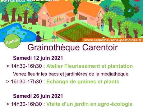 Visite de jardin à St Nicolas du Tertre