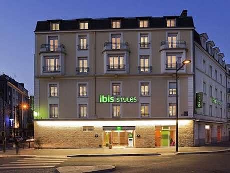 Hôtel Ibis Styles Rennes Centre Gare