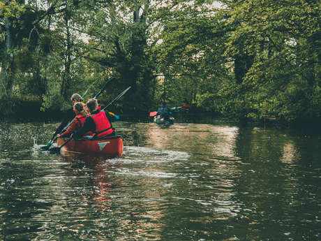 Balade en canoë, kayak ou pédalo sur le Meu