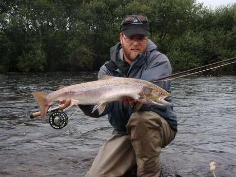 Kilian Lebreton, guide de pêche au saumon à la mouche et au lancer !