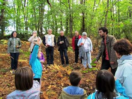 Visite guidée La nature fête l'automne